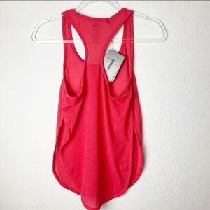 Gymshark Breeze Open-side Tank Top Vest Hot Pink S